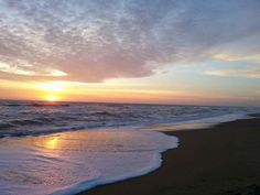 Outer Banks NC Local Artists Facebook post 3/3/15:  Sunrise at Kill Devil Hills.   Photographer credit: Peter A Bodiger.