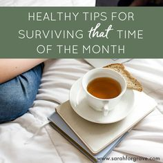 Do you fight cravings the week before your period? Here are healthy tips to survive *that* time of the month and lower your stress.