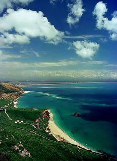 Setubal, Portugal beaches and  coastline -  Arrábida mountain