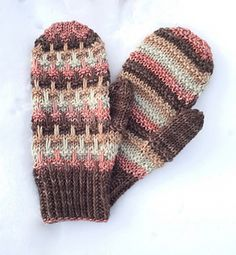 Fence Line Mittens pattern by Julie Hart - Olav Innwood Purl Stitch, Mittens Pattern, Nordic Style, Fingerless Gloves, Arm Warmers, Fence, Stitch Patterns, Stripes, Livestock