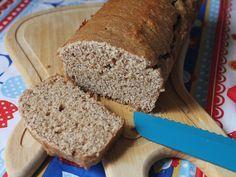 receita de pão integral de liquidificador que não precisa sovar! :D