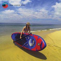 Hala Straight Up Inflatable SUP Board Available at Columbus Kayak