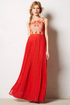 10 Stunning Dresses For Every Black-Tie Affair #refinery29 Rina Dhaka Rubied Dusk Dress, $298, available at Anthropologie
