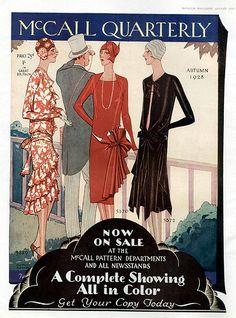 McCall Quarterly 1928, via Flickr.