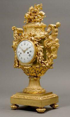 Large Vintage Wall Clocks, Antique Clocks, Large Clock, Clock Art, Clock Decor, Desk Clock, Louis Xvi, French Clock, Classic Clocks