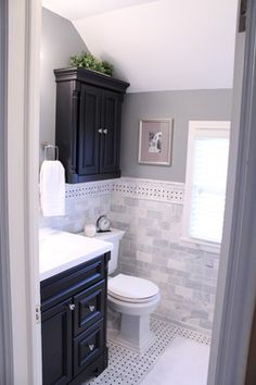 1946 Colonial Bathroom Overhaul - Houzz