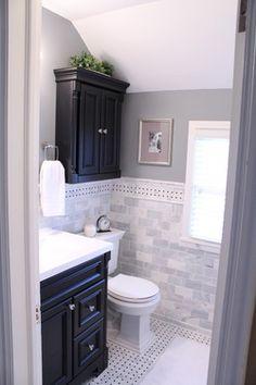 1946 Colonial Bathroom Overhaul - Houzz