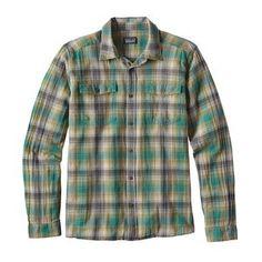 M's Long-Sleeved Steersman Shirt, Costa: True Teal (CSTT)