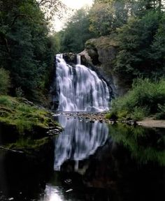 Youngs River Falls. Ive been swimming right here. its amazing. and we jumped off of the waterfall ;) @EmElizabethM @thestickymango @acacian12