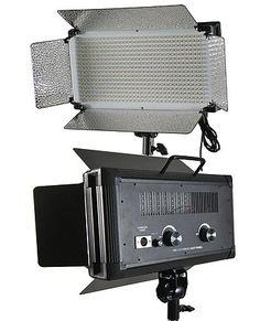 Amazon.com: 500 LED light Panel Led Video lighting Led Lite Panel by Fancier: Camera & Photo