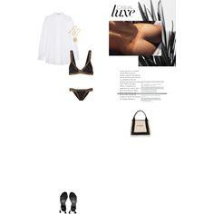 Bez tytułu #80 by izabelmaz on Polyvore featuring moda, Acne Studios, kiini, AllSaints, Balenciaga and Kenneth Jay Lane