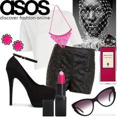 Pink vs black | Women's Outfit | ASOS Fashion Finder