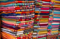 Photos and pictures of: Kikois for sale, Dar es Salaam, Tanzania - The Africa Image Library African Textiles, African Fabric, Ethnic Diversity, Rift Valley, Dar Es Salaam, African Theme, Kilimanjaro, School Holidays, Africa Travel