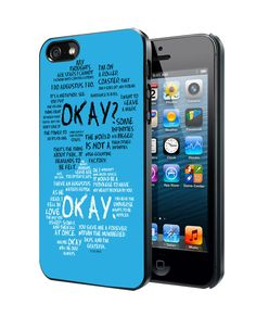 the fault in our stars quotes Samsung Galaxy S3/ S4 case, iPhone 4/4S / 5/ 5s/ 5c case, iPod Touch 4 / 5 case