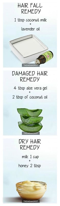 REMEDIES FOR EVERY HAIR PROBLEM #haircare