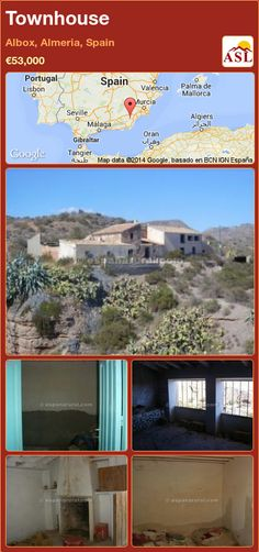 Townhouse for Sale in Albox, Almeria, Spain - A Spanish Life Murcia, Valencia, Portugal, Old Fireplace, Largest Countries, Cool Trucks, Townhouse, Spanish, Country