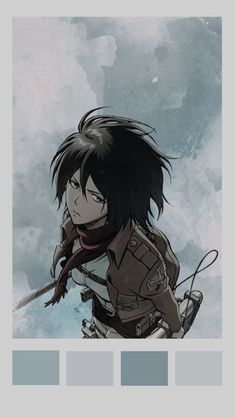 100 Ide Mikasa Ackerman Di 2020 Gambar Gambar Anime Animasi