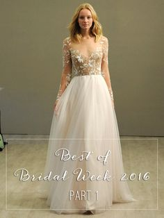 The Wedding Scoop's top picks from Bridal Week 2016 // Best of Bridal Week 2016 - Part 1