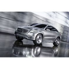 We pioneered the four-door coupe and raised the bar for SUV performance, but we've never combined the two—until now.  #mercedes #benz #coupe #SUV #concept #conceptcar #instacar #germancars