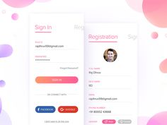 Latest Login & Register Screens designed by Raj Dhruv. Connect with them on Dribbble; Forgot Password, Screen Design, Mobile App, Screens, Canvases, Window Screens