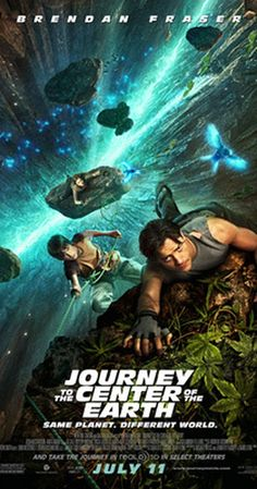 Directed by Eric Brevig.  With Brendan Fraser, Josh Hutcherson, Anita Briem, Seth Meyers. On a quest to find out what happened to his missing brother, a scientist, his nephew and their mountain guide discover a fantastic and dangerous lost world in the center of the earth.