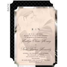Bordered Bliss Wedding Cards