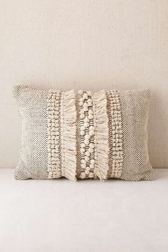 "Britta Center Shag Bolster Pillow - Urban Outfitters - 14""x 20"" - $69 - for the chair"