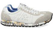 Beige/Witte Premiata schoenen Lucy sneakers