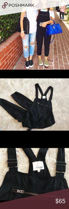 Aritzia Black Overall Jumpsuit Aritzia Black Overall Jumpsuit Aritzia Other