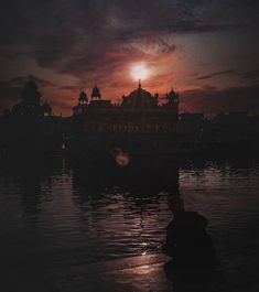 Harmandir Sahib, Golden Temple Amritsar, Gurbani Quotes, God Is Good, Bible Verses, Lord, Faith, Sunset, Outdoor