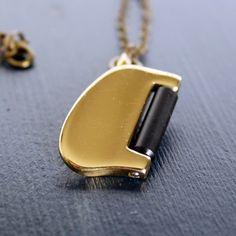 Saxophone Pinky Key Necklace