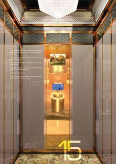 طرح تاچ Touch-VIP - پنل آسانسور مدیا Media