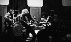 Led Zeppelin at the Bluesville 69 club in Welwyn Garden City, UK. April 8th, 1969.