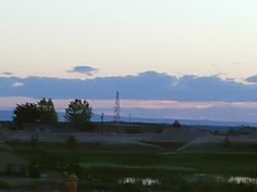 PT 16 NAMPA IDAHO. FIRE TOWER AND A SUNSET. JUNE 15