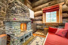Tunturikivi takka Cabin, House Styles, Home Decor, Homemade Home Decor, Interior Design, Cottage, Home Interiors, Wooden Houses, Decoration Home