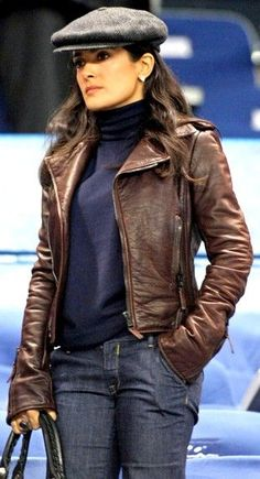 Salma Hayek Fashion and Style - Salma Hayek Dress, Clothes, Hairstyle - Page 21