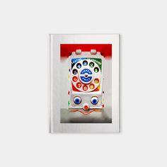 funny cute smiley Toy dial Phone Notebook #paper #design #spiralnotebook #hardcovernotebook #Classic #Retro #Vintage #smiley #kids #Toys #DialPhone #telphone #phone #funny #cute #cartoons