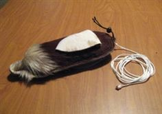 JACK RABBIT LURE WITH LONG EARS, FOR LARGE HAWKS AND EAGLES
