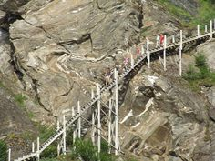Fykantrappa - hiking in historical surroundings