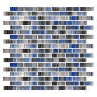 Glacier Brick Glass .65 x 1.85 in $24.99 Sq Ft      Coverage 10.20 Sq Ft per  Box