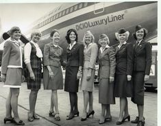 80 years of flight attendants; a photo album by American Airlines, more pictures at https://www.facebook.com/media/set/?set=a.10151377657361078.1073741832.7003656077=3