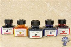 Great ink swatch comparisons- J. Herbin Fountain Pen Ink at the Goulet Pen Company