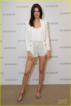 Kendall Jenner at Le Lis Blanc Winter Collection Party