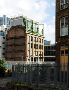 roof garden apartment, london