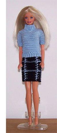 New Fashion Clothes Pattern Barbie Dolls Ideas Barbie Clothes Patterns, Crochet Barbie Clothes, Clothing Patterns, Accessoires Barbie, Trendy Fashion, Fashion Outfits, Fashion Clothes, Barbie Dress, Barbie Doll