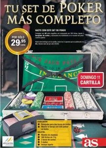 ¡Hazte con un Set de Poker Completo con AS! ¿Quieres saber cómo conseguirlo? http://ofertasdeprensa.offertazo.com/set-de-poker-as/