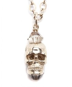 A solid 9 carat gold skull pendant perfect for the halloween mood! http://www.annebowesjewellery.com/products-page/chains/gold-skull-necklace-2.