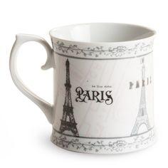 Adorable Paris Coffee Mug