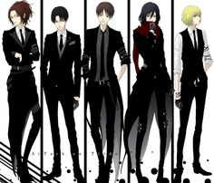 OMG I LOVE FORMAL WEAR AND ANIME BUT TOGETHER IS A WHOLE DIFFERENT THING ♥♥♥♥♥ FANGIRLING LIKE CRAZY