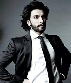 Aditya Chopra scolds me: Ranveer Singh Indian Celebrities, Bollywood Celebrities, Best Suits For Men, Katharine Ross, Beard Game, Indian Man, Ranveer Singh, Amai, Men Styles